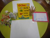 One Fish, Two Fish, Red Fish, Blue Fish writing workshop.