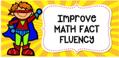 Math Fact Fluency Goals
