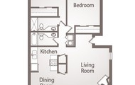 Spacious Floor Plan!