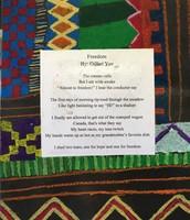 Kente cloth art & poem