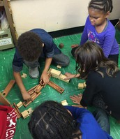Collaborating on a Marble Run Structure