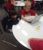 Kindergarten Macbook Bootcamp w/ 5th Grade Buddies