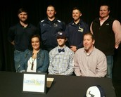 Black Bears Sign Athletic Scholarships