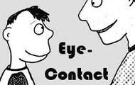 A Arturo le gusta contacto con los ojos.