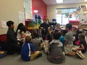 Enjoying our last read aloud from Mr. Matt