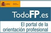 TodoFP - Toda la información sobre la Formación Profesional