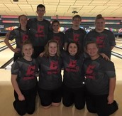 Varsity Bowlers Fight for Strikes at States
