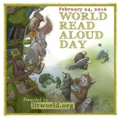 World Read Aloud Day - February 24