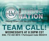 Thrive Nation Weekly Calls
