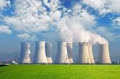 A nuclear power plant on the job
