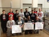 Congratulations Mexico Wrestlers on sending 10 Wrestlers to State Wrestling Championships. New School Record!