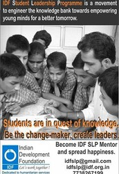 Student Leadership Program for the students of standard 8th, 9th and 10th