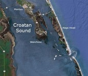 Where is the Croatan located?