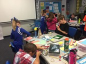 Decorating our Writer's Notebooks