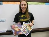 POW! Ms. Heath loves to read!