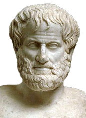 one of the people he got trained by is Aristotle