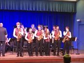 Performing at Fullerton College