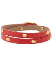 Hudson Leather Wrap - Red 50% off - Now $19.50