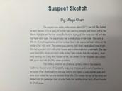Maya's Suspect Sketch