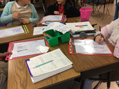 Ms. Durham's Learning Stations