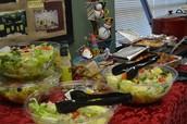 Food for the teachers on Teacher Appreciation Day