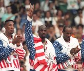 "The ""Dream Team"" wins at the olympics"