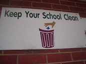 I love a clean school!