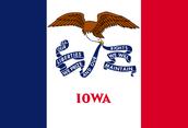 Iowa's Flag