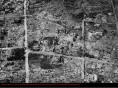 The Damage Done in Hiroshima, and Nagasaki