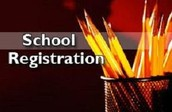 Spring Registration is up and going!  ALL students must be registered by May 7th!