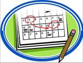 CB Calendar Updates