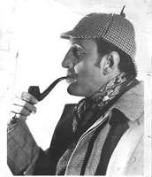 Basil Rathbone, Sherlock Holmes Publicity Photo