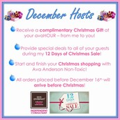 Host an avaHour in December and January!!!