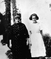 Eva Galler and her Mother.