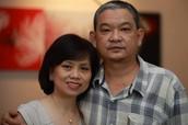 My amazing parents!