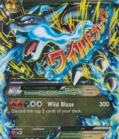 Mega Charizard EX X version