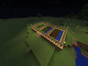 Minecraft Plantation Farm