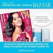 Featured in Bazaar Magazine