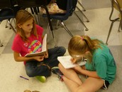 Authors Hard at Work!