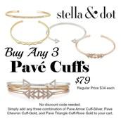 Pave Cuffs