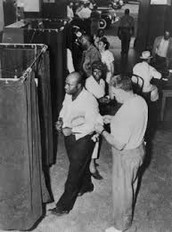 1.What gave African Americans the right to vote?