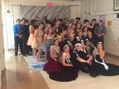 Your 2015 Senior Class at the Homecoming Dance