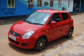 Suzuki Swift from Avis Car Rental shop