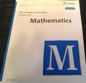 Ontario Mathematics Curriculum Document