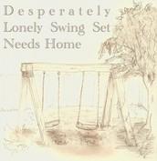 Lonely Swing Set