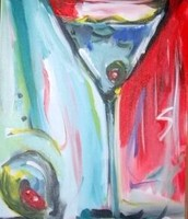First Friday: Abstract Martini