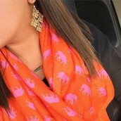 The elephant scarf!! Brand new, never worn, was $64, now $30!!
