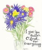 Walk the Lenten Journey - Flowers Contribution