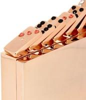 Rose Gold Coated Domino Set