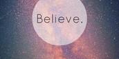 #BELIEVE !!